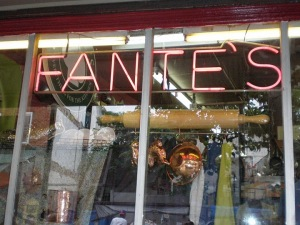 Fante's front window