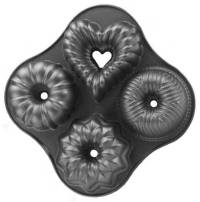 9-Cup Quartet Bundt Pan