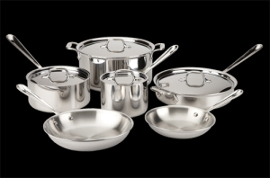 All-Clad Stainless Steel Classic Cookware Set