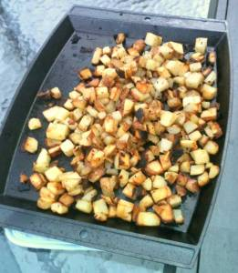 Lodge Logic Sizzlin' Potatoes on the Grill