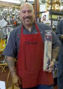 Tony Luke at Fante's