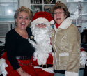 Santa Joe with Gina and Annie