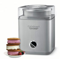 2118 Cuisinart Pure Indulgence 2Qt Frozen Yogurt, Sorbet and Ice Cream Maker