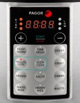 Fagor Lux Multi-Cooker - Panel On Pressure Cook