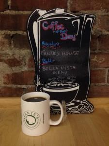 Fante's Coffe of the Day Menu