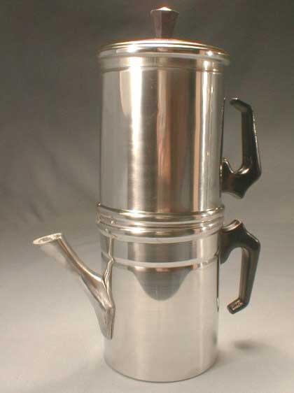 Napoletana Aluminum Italian Drip Coffee Maker