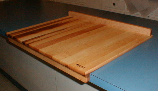 Pasta and Pastry Board on Counter