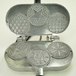 #3359 The Palmer 3 Small Pizzelle Iron, Model 3000