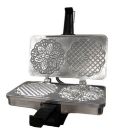 #7111 The CucinaPro Cast Aluminum Pizzelle Baker