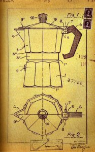 Bialetti 1951 Patent Drawing
