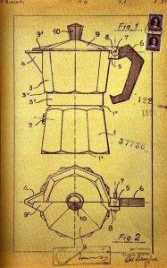 Bialetti 1951 Patent Drawing