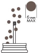 Peugeot Pepper Mill Maximum Size Peppercorns