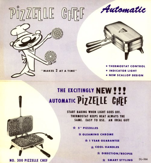 Pizzelle Chef Brochure