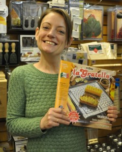 Brustolina - La Gratella Graticola Tostapane Stainless Steel Stovetop Toaster