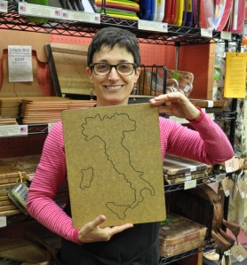 Italy Cutting Board