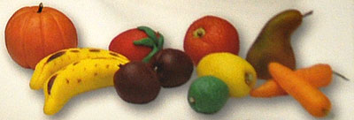 Marzipan Fruits and Vegetables