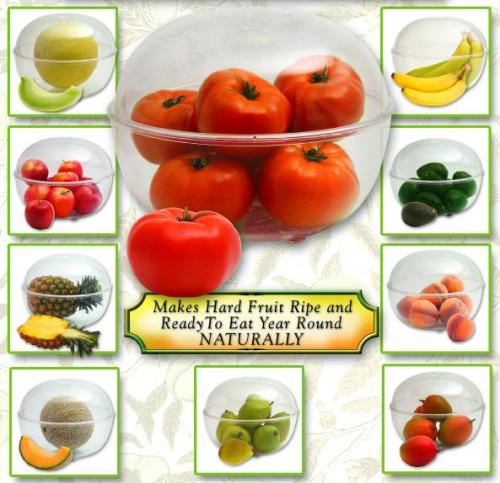 Fantes Fruit Ripener ™ Bowl With Veggies & Fruit
