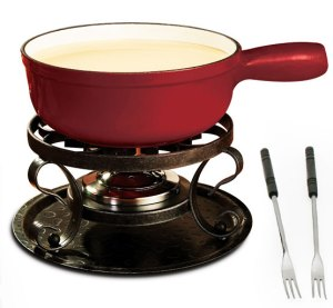 #99021 Lugano Cheese Fondue Pot