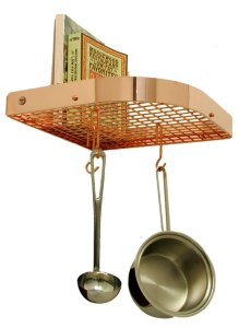 Enclume pr7acp1 Corner Wall Pot Rack