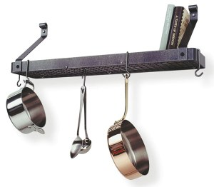 Enclume pr8a-hs Bookshelf Pot Rack