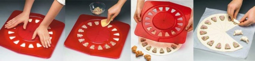 Betty Bossi Small Croissant Maker Instructions