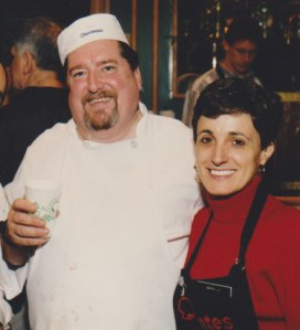 Chef Fritz Blank and Mariella - 1995
