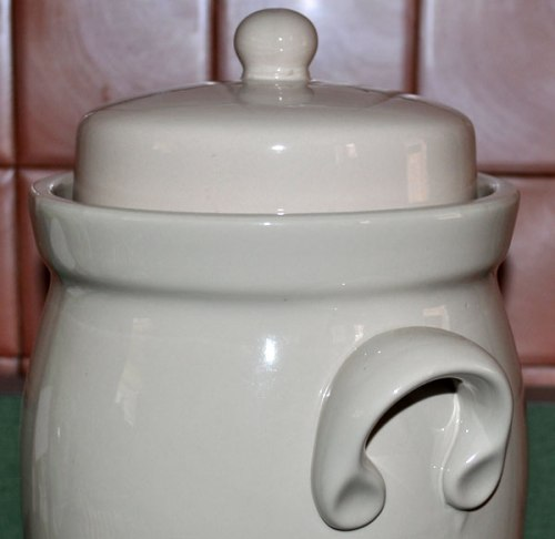 #613415 Rumtopf Rum Pot Handle and Lid