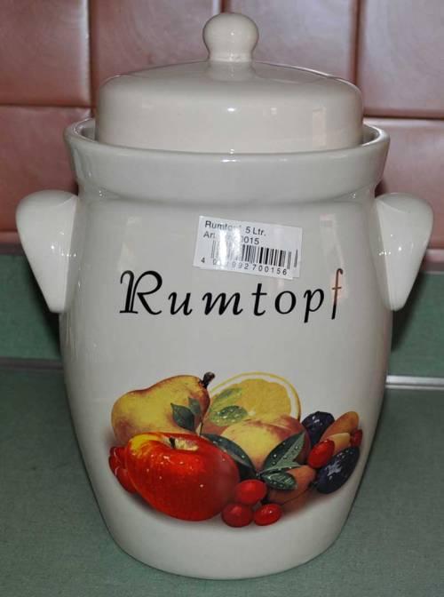 #613415 Rumtopf Rum Pot
