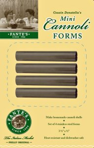 # 98118 Fante's Cousin Donatella's Mini Cannoli Forms