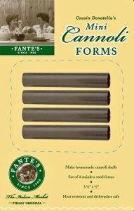 # 98118 Fante's Cousin Donatella's Mini Cannoli Forms