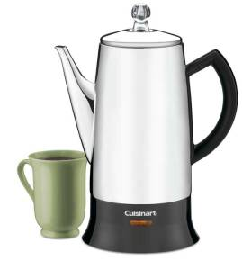 #9885 Cuisinart Electric Coffee Percolator