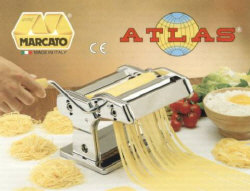 Marcato Atlas Pasta Machine Includes 180 Millimeter Pasta Machine with Pasta
