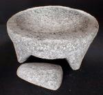 Large Volacanic Stone Molcajete