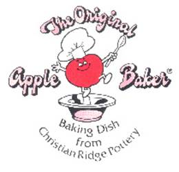 Christian Ridge Pottery Apple Baker