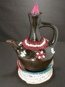 Ethiopian Coffee Ceremony Serving Pot