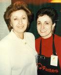 Biba Caggiano and Mariella