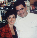 Emeril Lagasse and Mariella