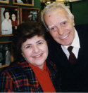 Mary Ann Esposito and Nonno Verino