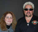 Guy Fieri and Nadia