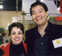 Ming Tsai and Mariella