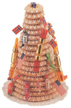 Kransekake Norwegian Wedding Cake