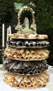 Krumkake Wedding Cake by Heidi Swartz