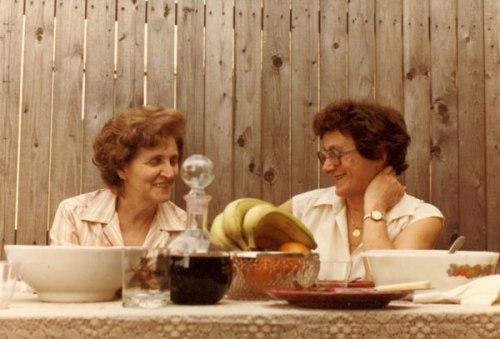 Luisa and Mamma Antonietta