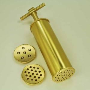 613975 - Di Leo Torchietto Solid Brass Pasta Extruder