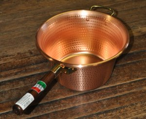 612739 Italian Copper Polenta Pot