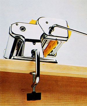Turn the handle very slowly