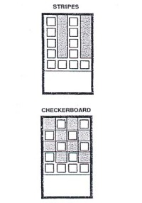 educated cake pan stripes and checkerboard diagrams - fig32