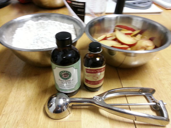 Plum Cakes Ingredients