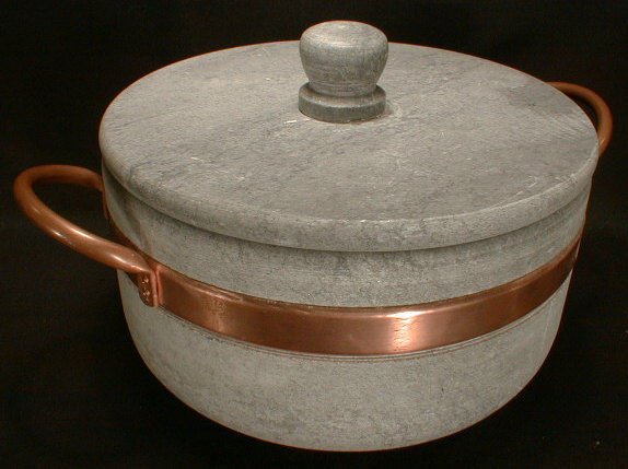 Soapstone Cooking Pot
