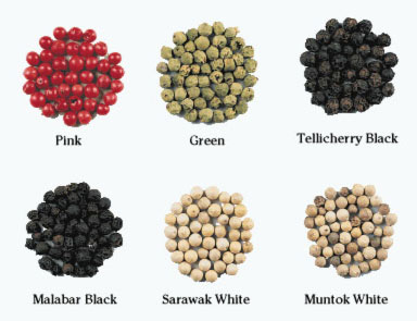 Variants of Peppercorns